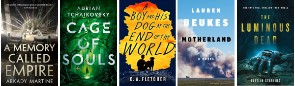 April 2019 science fiction books
