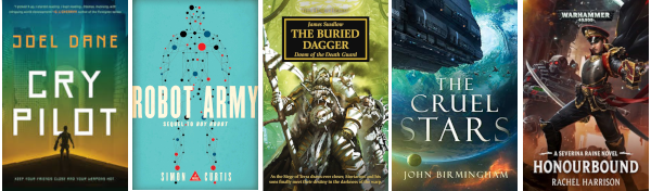 August 2019 science fiction books