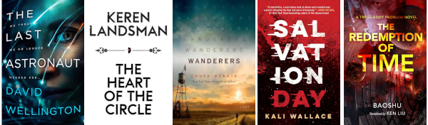 July 2019 science fiction books
