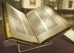 The Guttenburg Bible