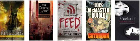 Nominations for 2011 Hugo & Campbell awards