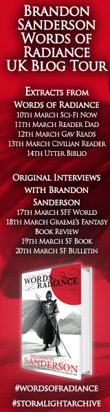 Brandon Sanderson's Blog Tour
